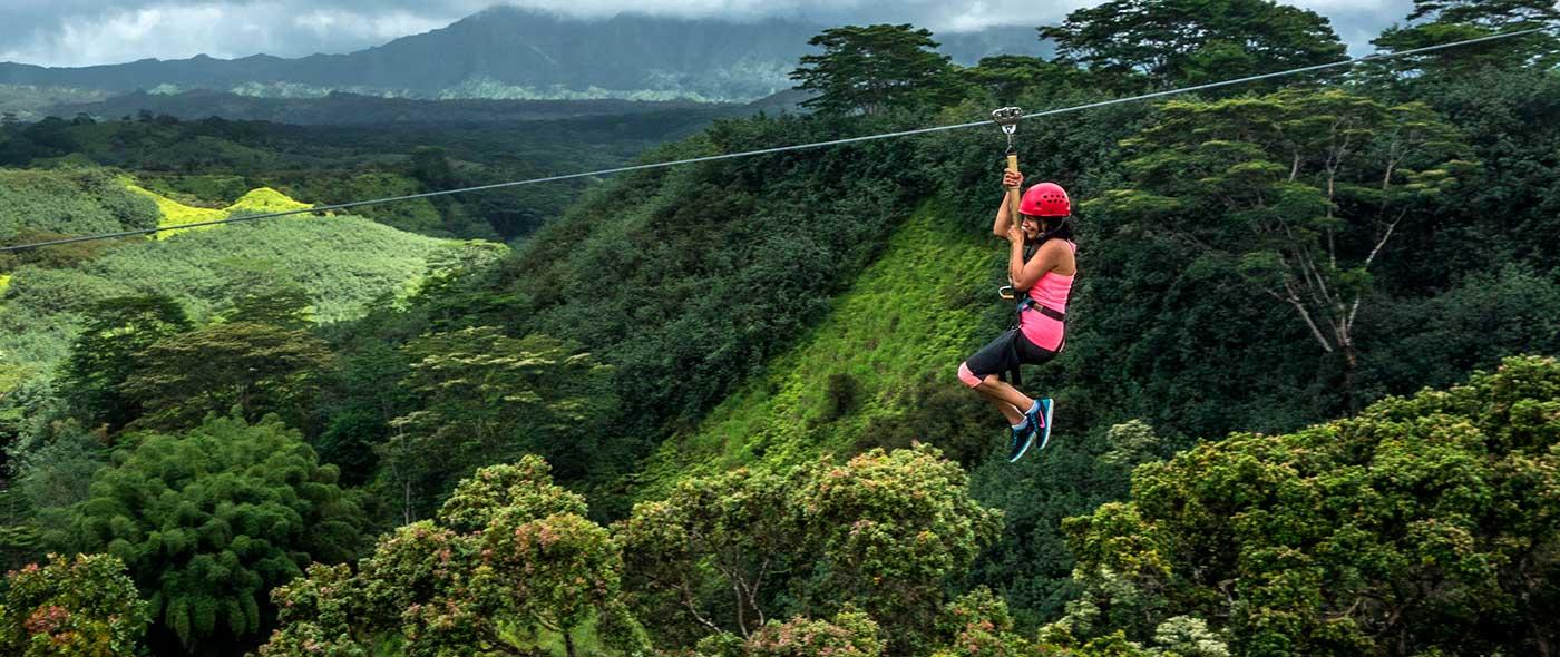 Kauai Zipline Adventures