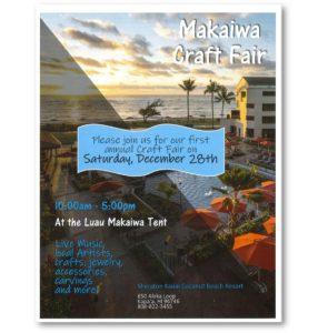 craft fairs kauai,